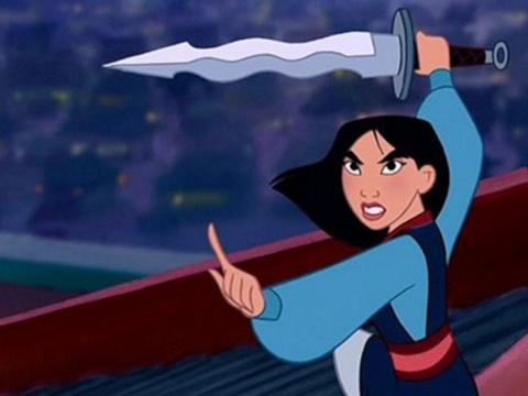 Leone e fiabe, Mulan il personaggio prescelto
